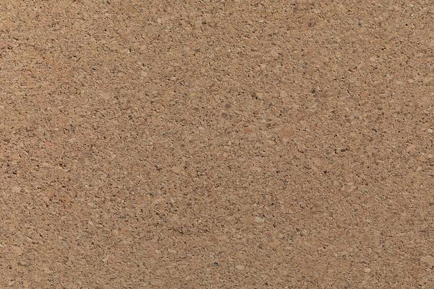 Tableau de texture de liège ou cockboard brun