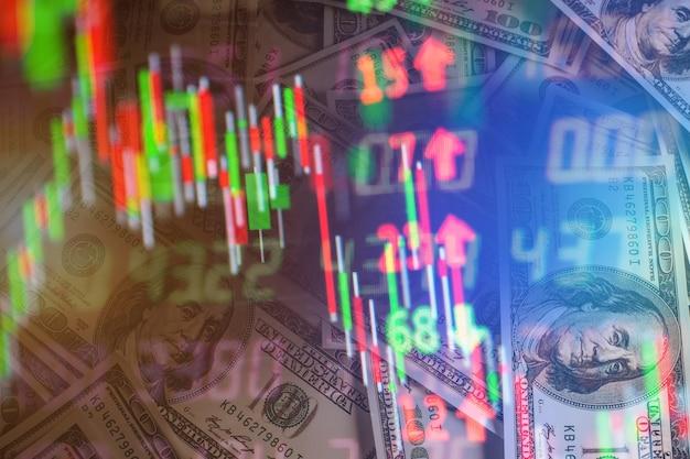 Tablette de capital gratte-ciel de l'écran d'échange