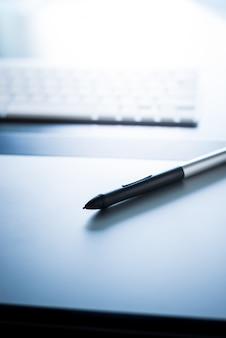 Tablette graphique avec stylo