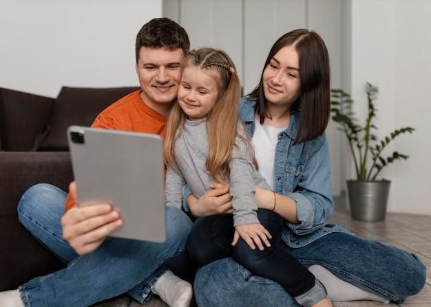 Tablette de tenue de famille de tir complet