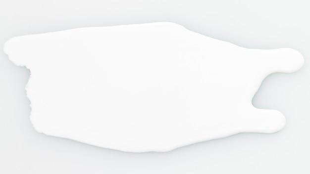 Tache blanche de texture de peinture grasse