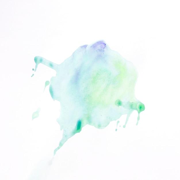 Tache de peinture colorée