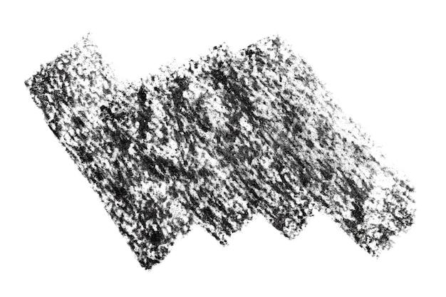 Tache texturée au charbon de bois noir - espace pour votre propre texte