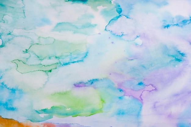 Taches abstraites de fond aquarelle