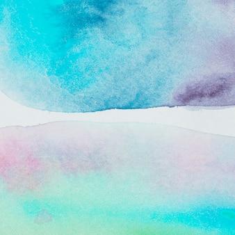 Taches de pigments multicolores