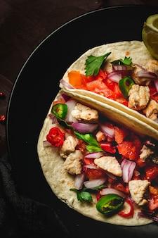 Tacos mexicains faits maison