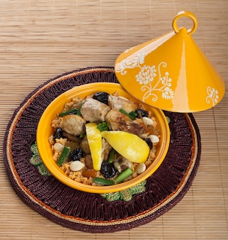 Tajine au poulet, cuisine marocaine