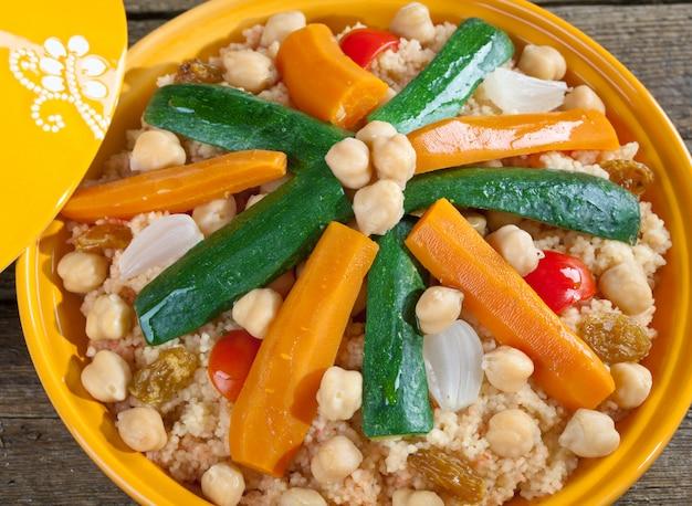 Tajine aux légumes