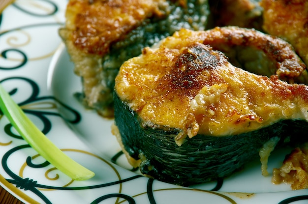 Takoz palamut cuisine turque de poisson frit