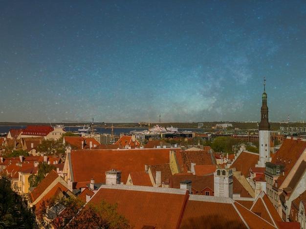 Tallinn, vieille ville d'estonie