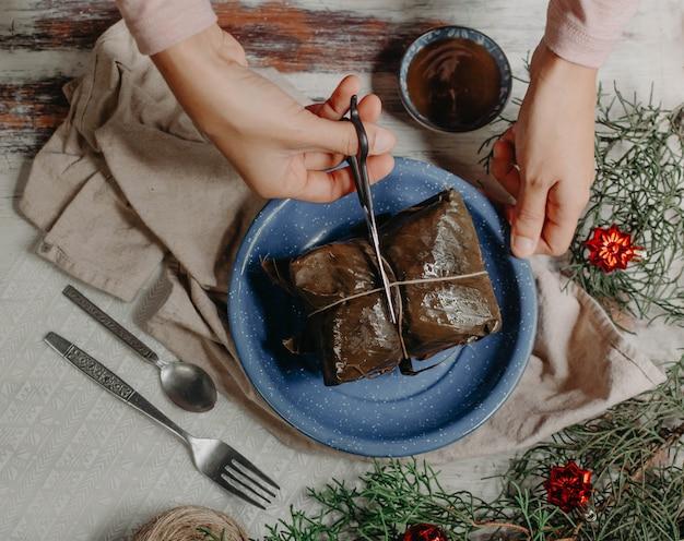 Tamales, une cuisine traditionnelle d'amérique latine