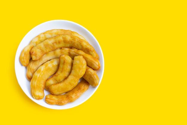 Tamarin mariné fermenté sur jaune