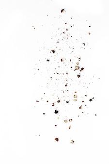 Tamiser le poivre noir