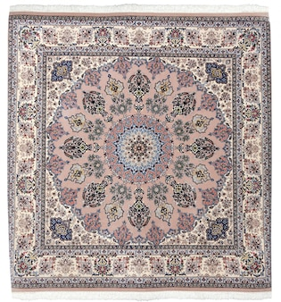 Tapis arabe artisanal islamique coloré persan