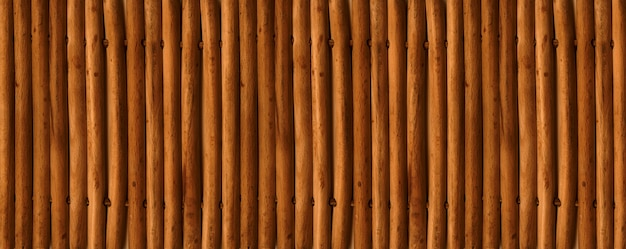 Tapis de bambou asiatique