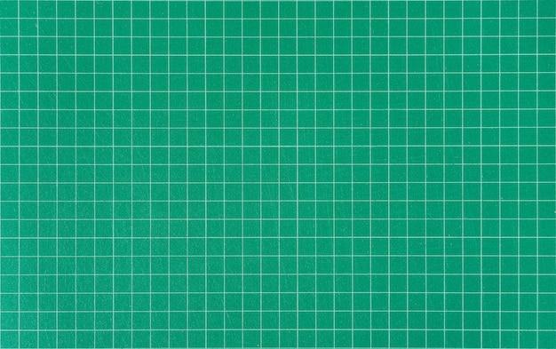 Tapis de coupe vert.