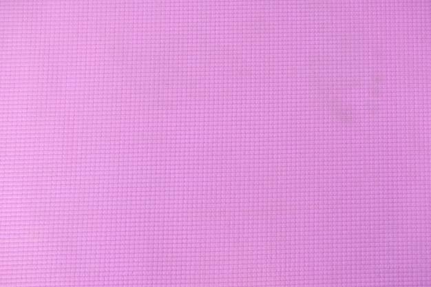 Tapis de yoga rose pour l'exercice