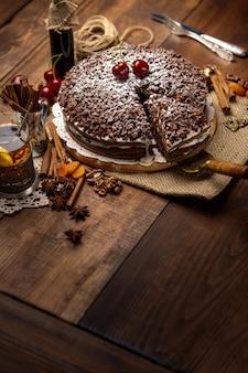 Tarte au chocolat maison