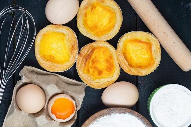 Tarte aux œufs, dessert portugais traditionnel
