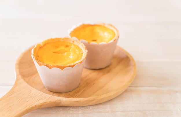 Tarte aux œufs sur plaque