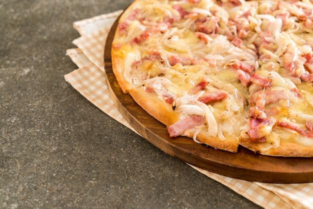 Tarte flambée pizza