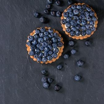 Tartelettes aux bleuets