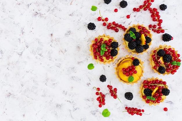Tartelettes aux différentes baies