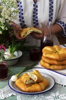 Tartes traditionnelles roumaines et moldaves faites maison