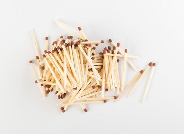 Tas de bâtons d'allumettes ou d'allumettes de sécurité