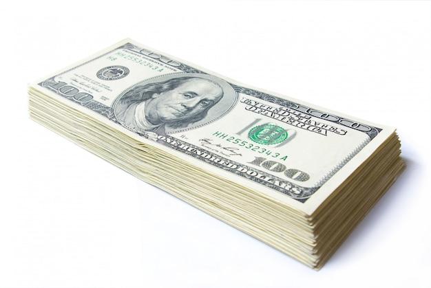 Tas de billets de banque
