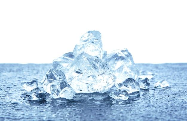 Tas de glace pilée