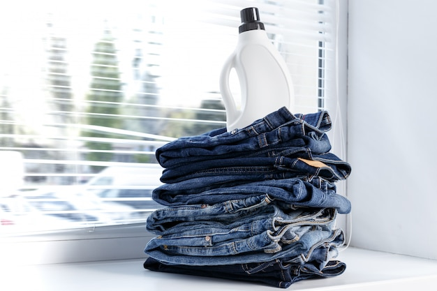 Tas de jeans