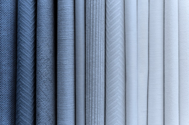 Tas de textiles