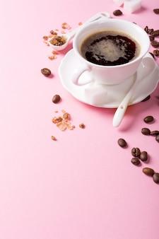 Tasse de café blanche