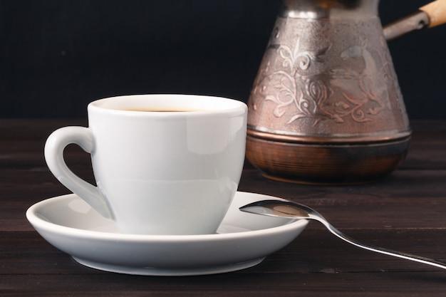 Tasse à café et cassonade