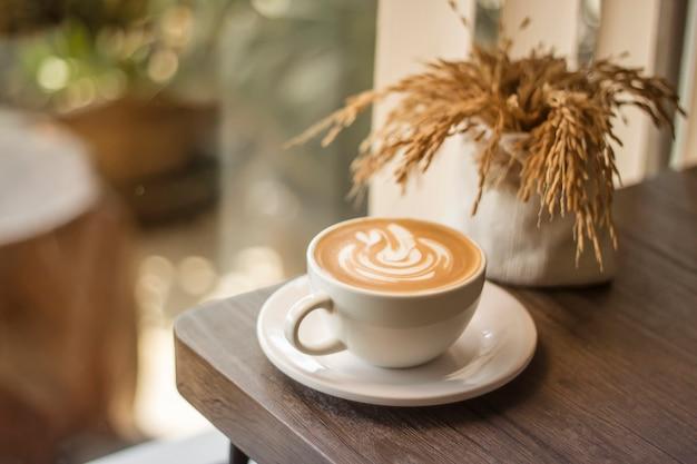 Une tasse de café le matin