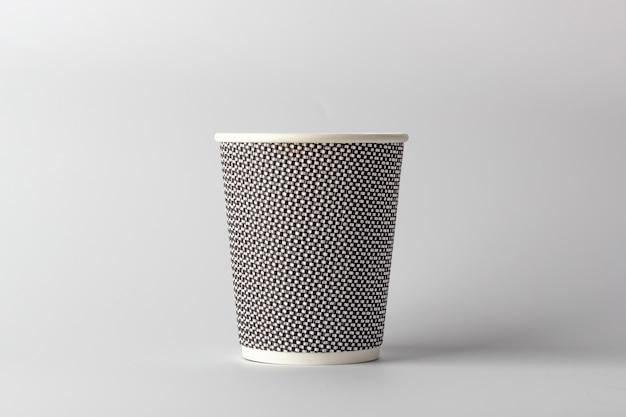 Tasse à café en papier maquette