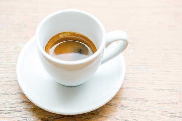 Tasse à café, une tasse d'espresso chaud