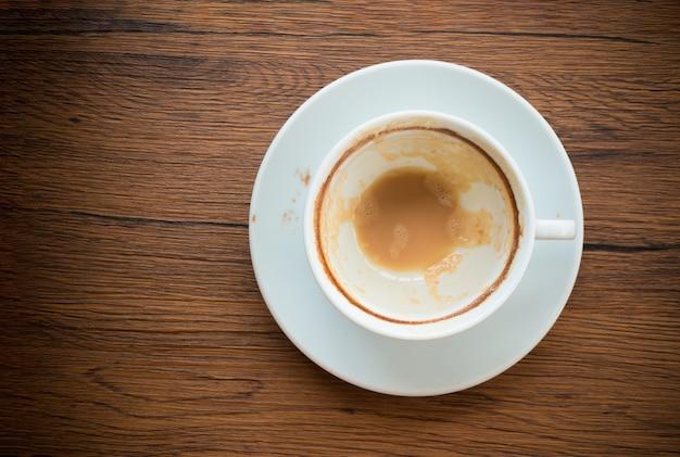 Tasse de café vide