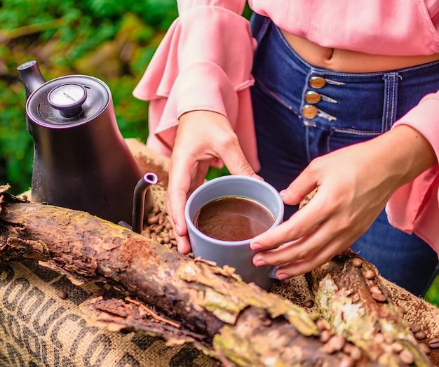 Tasse avec café