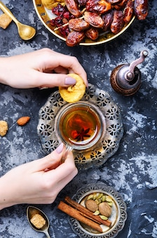 Tasse de thé turc