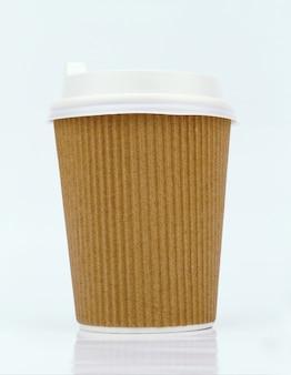 Tasses de café à emporter vierges