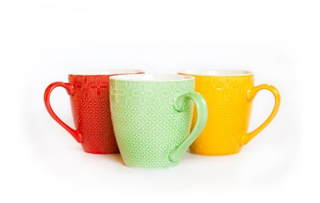 Tasses colorées