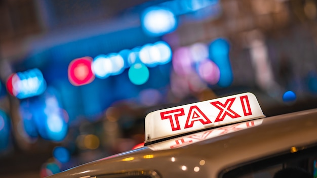 Taxi à hong kong