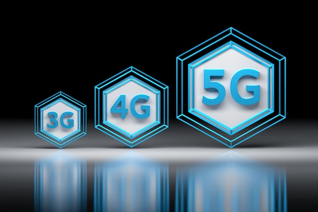 Technologie 3g, 4g, 5g
