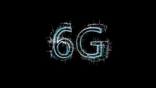 Technologie 6g, communication technologique avancée, 6e génération de communication technologique.
