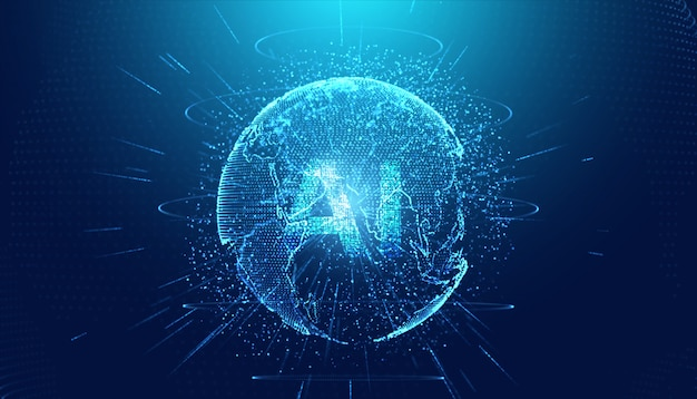 Technologie abstraite ai computing