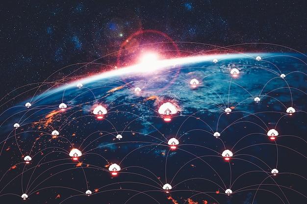 Technologie de cloud computing et stockage de données en ligne dans une perception innovante