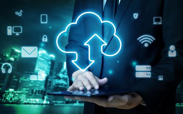 Technologie de cloud computing et stockage de données en ligne pour un partage de données mondial
