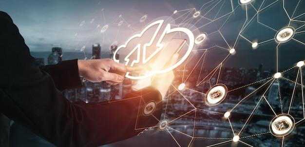 Technologie de cloud computing et stockage de données en ligne pour le partage mondial de données